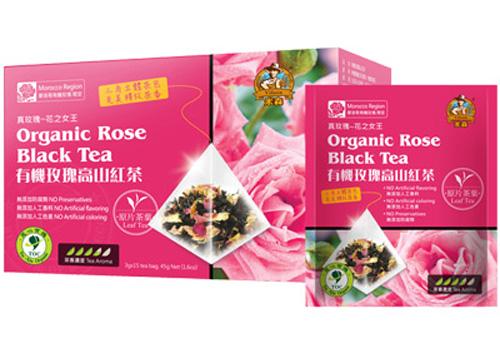 有機玫瑰高山紅茶3g*15小包