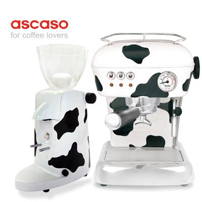《ascaso》Dream/The Cow Espresso咖啡機+i-mini電動磨豆機組合