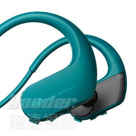【曜德★買一送二】SONY NW-WS413 藍 4GB 防水極限運動數位隨身聽 ★免運★送收納盒★