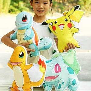 美麗大街【CP14051826】 神奇寶貝皮卡丘pokemon 抱枕 寵物小精靈寶可夢口袋妖怪毛絨玩具