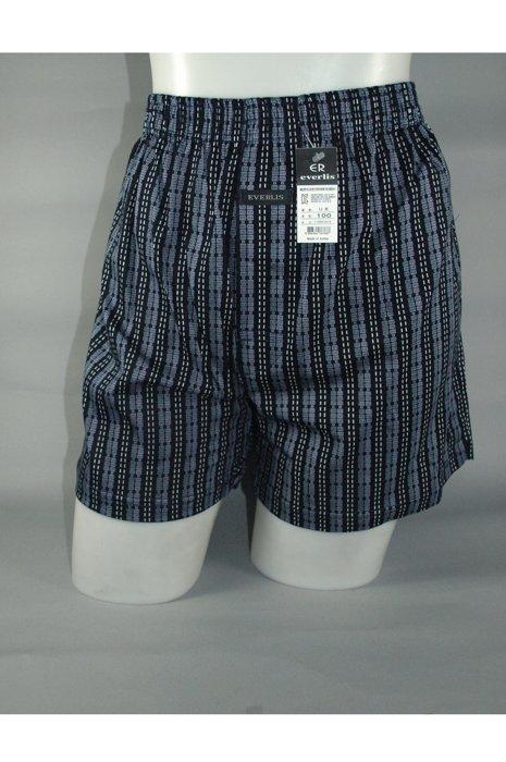 韓國歐巴進口100%純棉彈性針織男性平口褲~柔軟舒適、質感佳、超吸汗、好穿好看有型 韓國歐巴的選擇男生內褲男四角褲(隨機出貨)