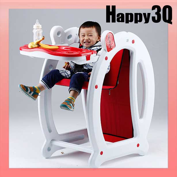 多功能安全環保寶寶兒童新生兒嬰兒安撫椅用餐椅舒適搖搖床搖椅-紅/藍【AAA0928】