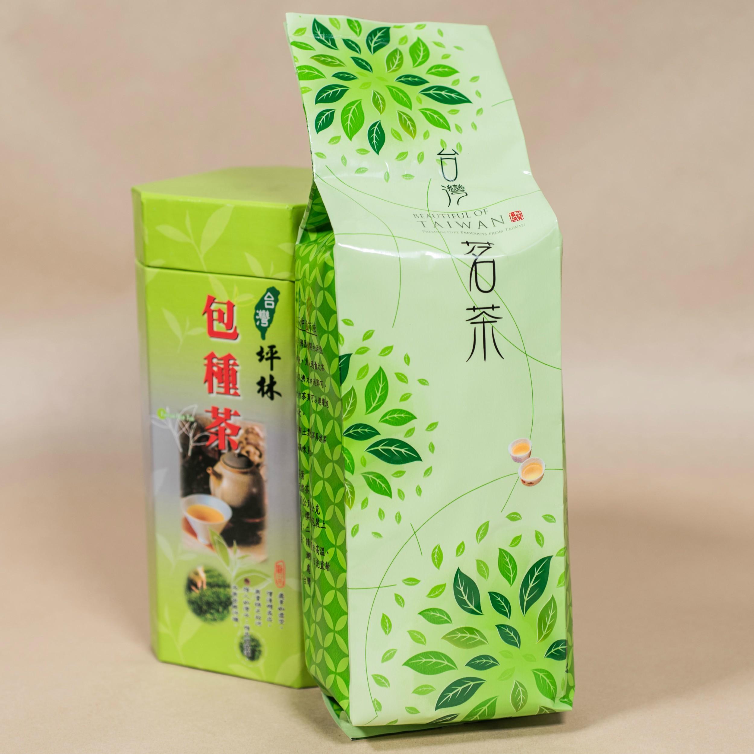 【半熟茶類】淡綠色台灣茗茶-150g/包