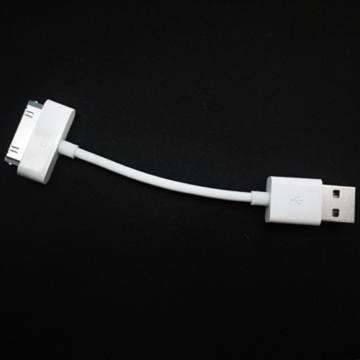 Apple 3G iPHONE 4 3GS 超短傳輸充電線 iPod Shuffle Photo Video nano mini