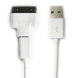 二合一充電線 Apple&Micro USB接頭 適用APPLE iPad iPhone iPod HTC SONY SAMSUNG LG MOTOROLA 二合一兩用充電線