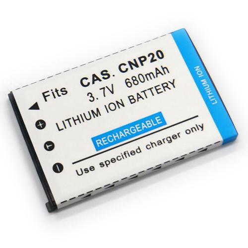 CASIO NP-20 NP20 相機電池 EX-S100 S500 S600 S770 S880 Z3 Z4 Z5 Z60 Z70 Z77 Z75 M1 M2 M3 M20 S1 S2 S20 S3 680mAh