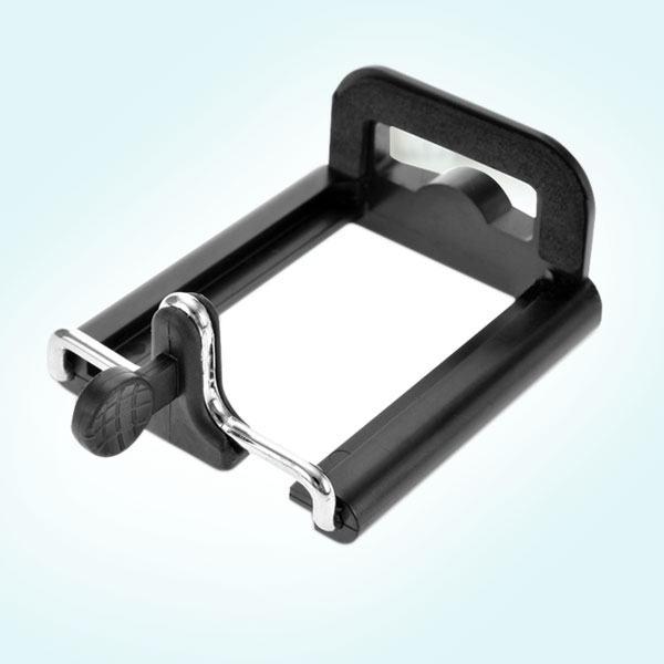 可拉式 手機背夾 自拍手機夾 (1/4螺紋) 適用5.5~8.5cm寬的手機 通用型雲台螺絲架