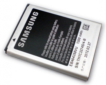 SAMSUNG S7500 原廠電池 EB464358VU 1300mAh 適用 Galaxy Ace Plus S-7500 / Galaxy Ace A+ i619 / Galaxy mini2 S6500 / Galaxy Fame Lite S6790