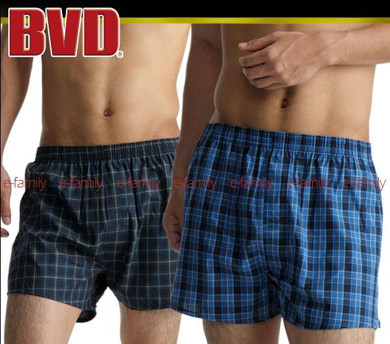 BVD全棉印花平口褲N592(7301)