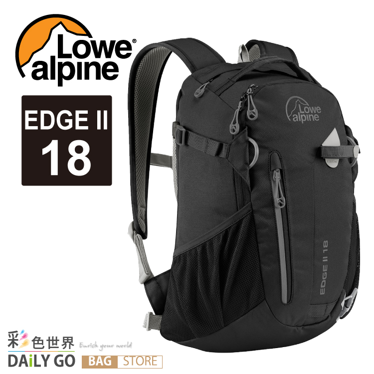 登山包 後背包 Lowe alpine EDGE II 18 -黑 FDP-4918B
