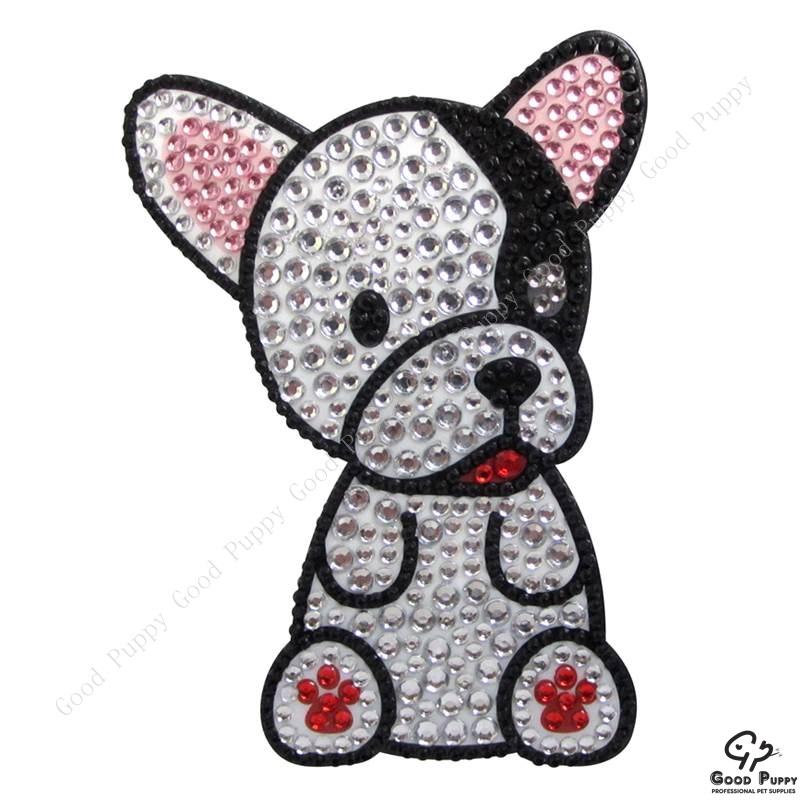 加拿大進口狗狗寵物水鑽貼紙-法鬥犬92956 French Bulldog* 手機/平板/電腦/iPad/iPhone/小禮物/贈品