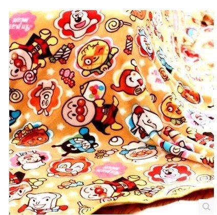 =優生活=日本麵包超人珊瑚絨毯子兒童毯蓋膝毯子 辦公室午睡毯 幼稚園午睡毯 冷氣毯 保暖毯 小號100*100cm