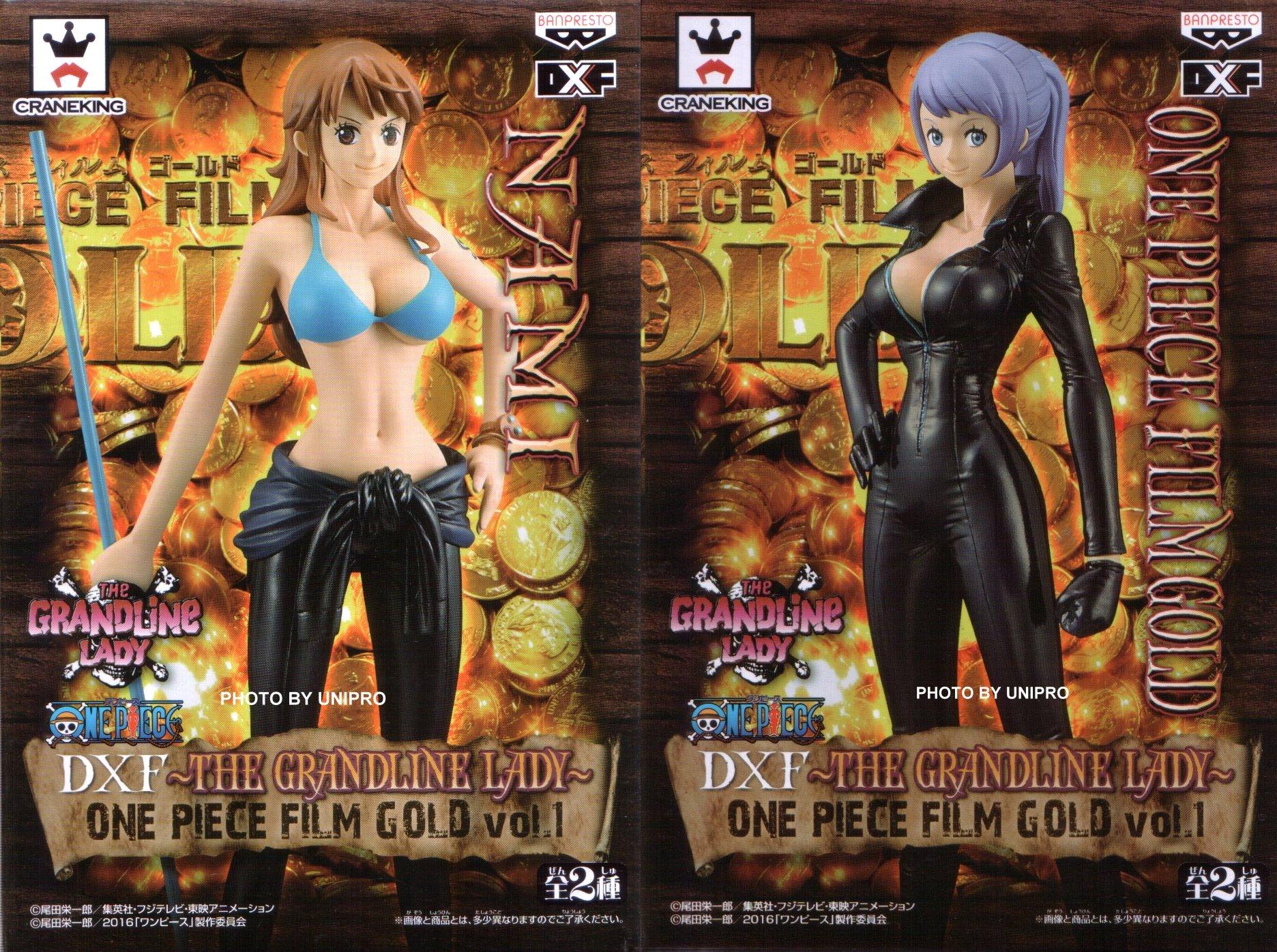 台灣代理版 電影版 DXF THE GRANDLINE LADY ONE PIECE FILM GOLD VOL.1  娜美 + 卡莉娜 全2種 NAMI 海賊王 航海王 公仔