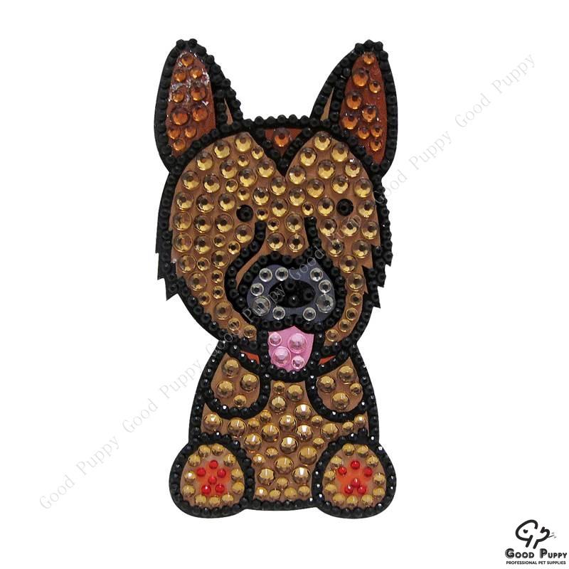 加拿大進口狗狗寵物水鑽貼紙-德國牧羊犬92971 German Shepherd 手機/平板/電腦/iPad/iPhone/小禮物/贈品