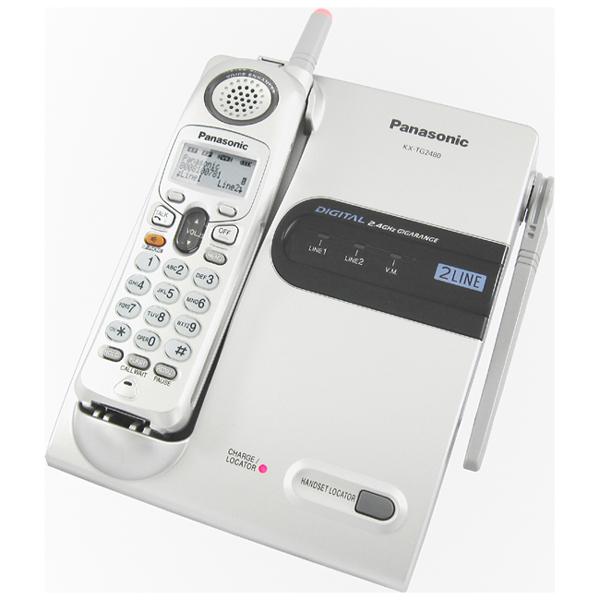 【TG2480】 Panasonic 2.4GHz雙外線數位式無線電話 KX-TG2480