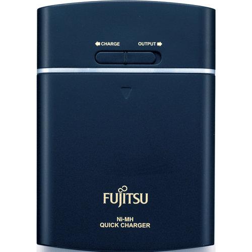 【FSC341FX-B】Fujitsu 富士通 充電電池 FSC341FX-B 3號充電電池4入+充電器(2450mAh)