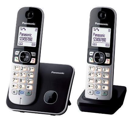 【TG6812】 Panasonic 國際牌數位雙子機無線電話 KX-TG6812    平行輸入一年保固