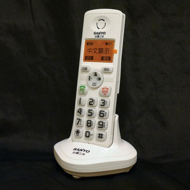 【CLT-1688HS】三洋 SANYO 中文DECT數位子母機電話 CLT-1688 擴充用子機