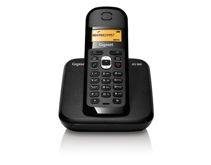 【AS180】西門子 SIEMENS Gigaset AS180 DECT數位無線電話【全新】公司貨2年保固