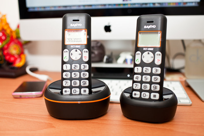 【DCT-9962】三洋 SANYO DCT-9962 DECT數位子母機無線電話