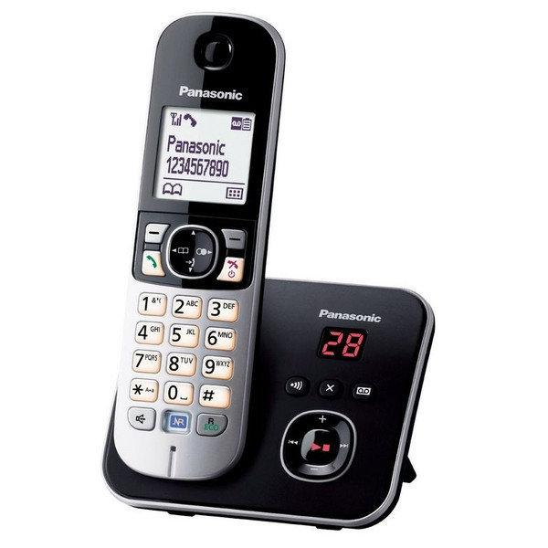 【TG6821TW】 《福利品小刮傷》Panasonic KX-TG6821 TW DECT 數位答錄中文顯示無線電話