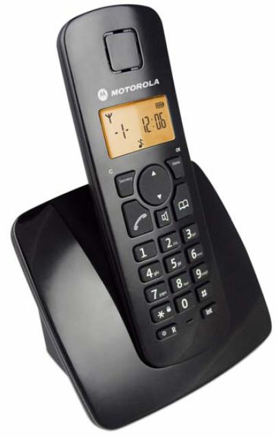 【C401】MOTOROLA DECT數位無線電話C401