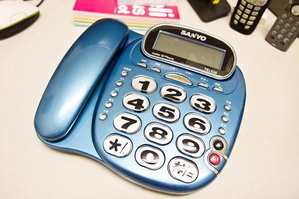 【TEL-539】《免運費》全新 三洋 SANYO TEL539 和弦來電鈴聲有線電話