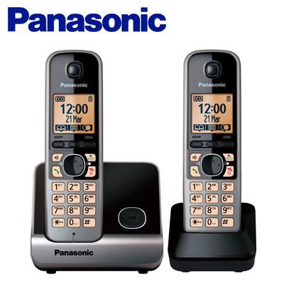 【TG6712】Panasonic 國際牌數位DECT 無線話機 KX-TG6712 TW / 黑