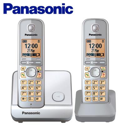【TG6712】Panasonic 國際牌數位DECT 無線話機 KX-TG6712 TW / 銀
