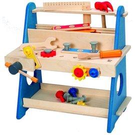 【淘氣寶寶】德國 Hape 愛傑卡 迷你工作台(E8008A)/兒童玩具/木製玩具
