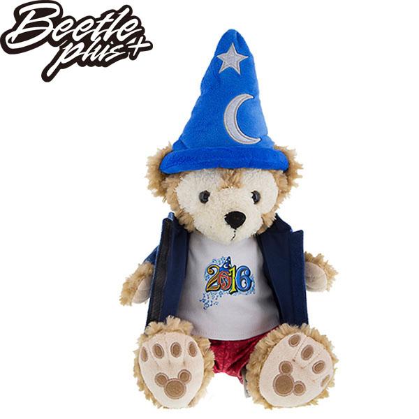 BEETLE 全新 正品 美國購入 DISNEY 達菲 DUFFY 聖誕禮物 魔法師 達菲熊 布偶 絨毛 娃娃 DUFFY J-34