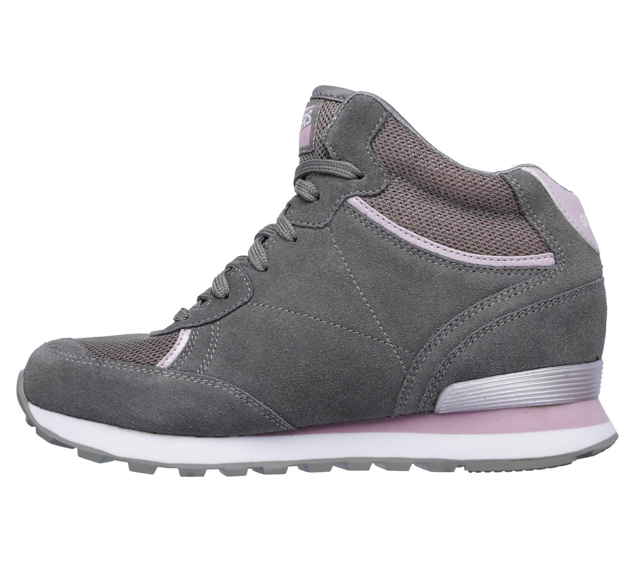 【米迪美國時尚小舖】SKECHERS 內增高布鞋 OG 82 - MESH'D UP