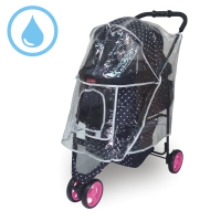 寵物推車專用防雨罩-沛德奧Petstro 308P 午後派對系列