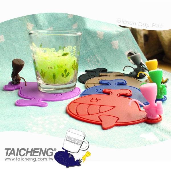 日本MAKINOU|造型環保矽膠杯墊|台灣製專利 日式無毒 通過SGS 牧野丁丁