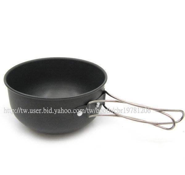 【露營趣】野樂 700cc 0.7L 可燒煮 超輕 輕量 鋁合金碗 鋁碗 登山 露營 個人餐具 單人鍋 ARC-1562A