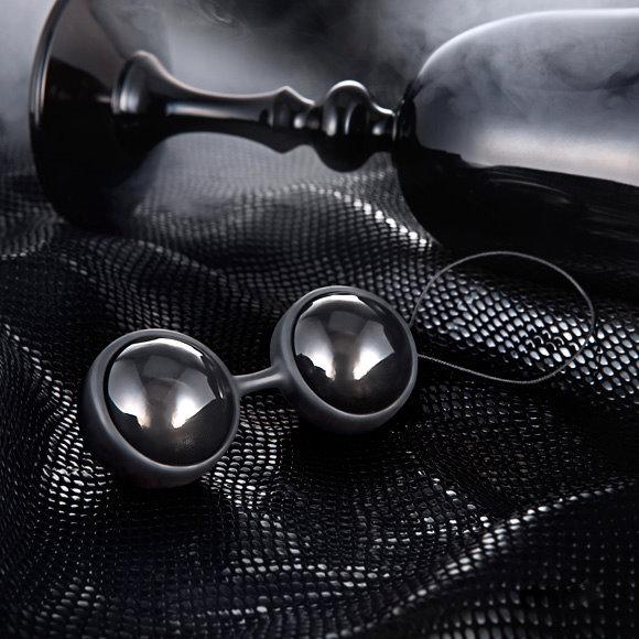 瑞典LELO Luna Beads Noir 露娜球(聰明球)_黑珍珠(後庭專用)