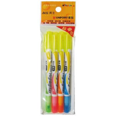 【優點  】732TW-4PCS(藍.綠.橘.粉紅)/黃雙色螢光筆
