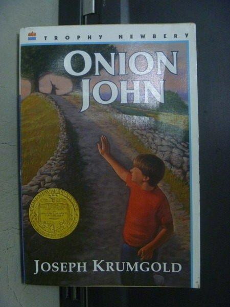 【書寶二手書T8/原文小說_OGW】Onion John_Joseph Krumgold