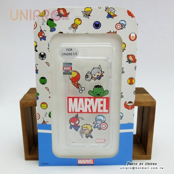 【UNIPRO】iPhone 5 5S 復仇者聯盟 Marvel TPU 透明 手機殼 保護套 i5