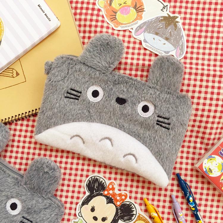 PGS7 日本卡通系列商品 - 龍貓 となりのトトロ Totoro 雙夾層 雙層 收納包 筆袋 吉卜力 宮崎駿