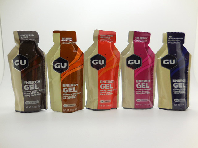 GU 能量飲 重量更輕 成分多了450毫克胺基酸排乳酸 不鐵腿 及維生素C.E 效能加分 3種咖啡因含量(無/20mg/40mg)