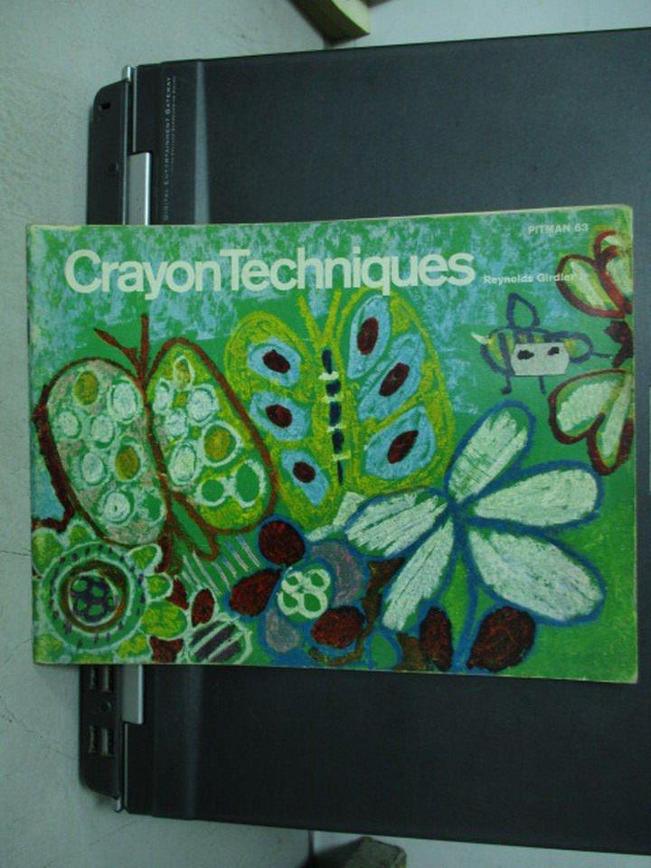 【書寶二手書T3/藝術_POF】Crayon Techniques