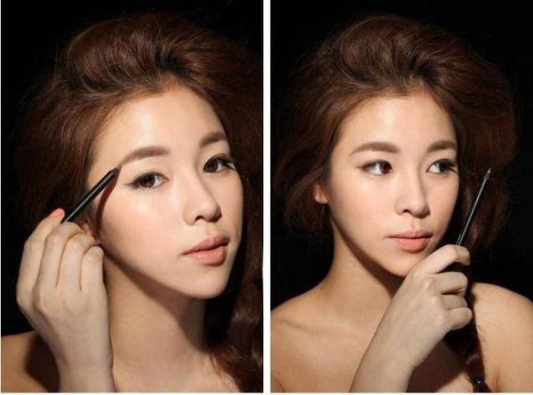 韓國3CE (3 CONCEPT EYES) 超自然顯色眉筆 1.8g (棕色/黑色)【庫奇小舖】~ 2色供選 ~