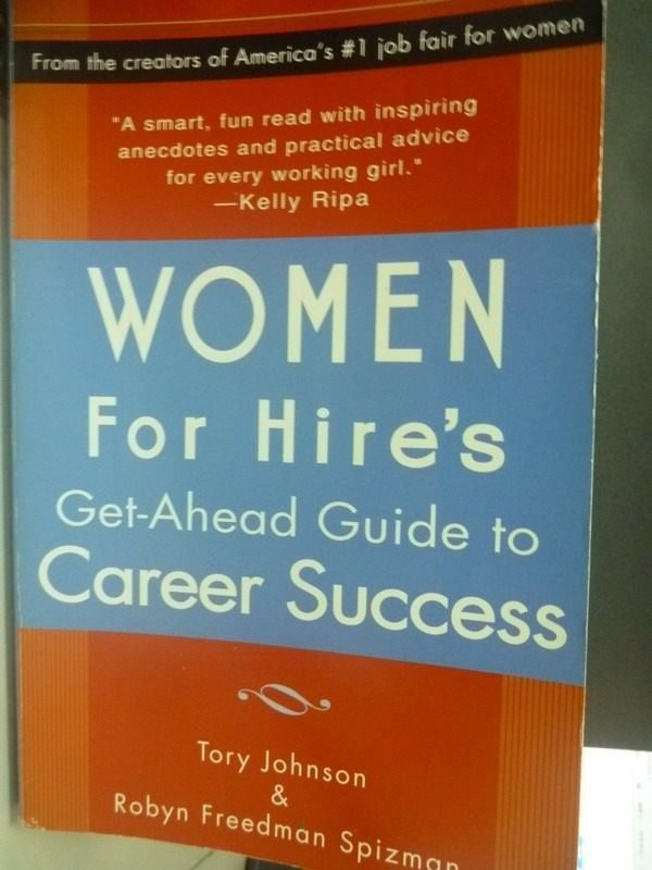 【書寶二手書T8/財經企管_ZCS】Women for Hires: Get-Ahead