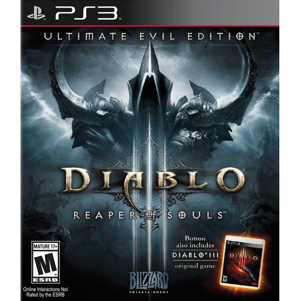 (全新包裝不完美)PS3 暗黑破壞神 3:奪魂之鐮 終極邪惡版 英文美版 Diablo III: Ultimate