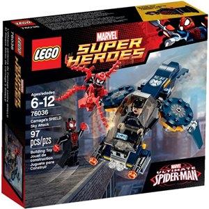 樂高積木LEGO《 樂高積木LEGO《 LT76036 》2015 年 SUPER HEROES 超級英雄系列 - Carnage 的神盾空中大襲擊