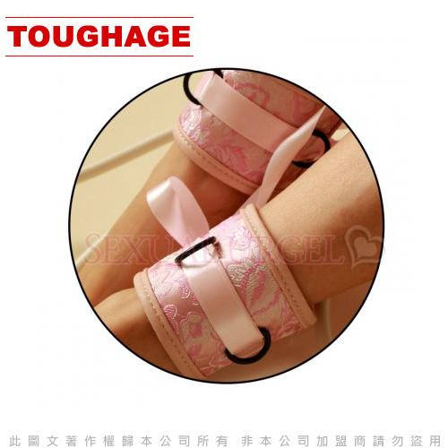◤情趣用品SM情趣◥美國駭客Toughage-Chinese silk Ankle Restraints 中國綢 腳腕束帶-粉 【跳蛋 名器 自慰器 按摩棒 情趣用品 】