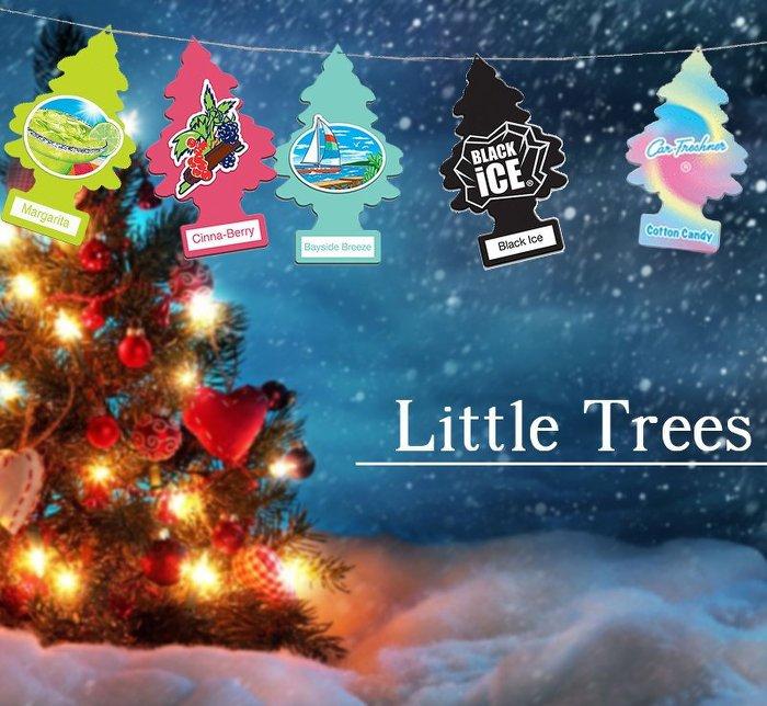 【彤彤小舖】Little Trees 小樹香片 芳香吊飾 香氛片