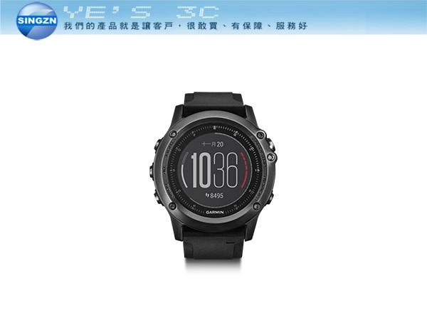 「YEs 3C」GARMIN fenix 3 HR 腕式心率戶外GPS腕錶 GPS/GLONASS/健身訓練/戶外導航 免運 yes3c