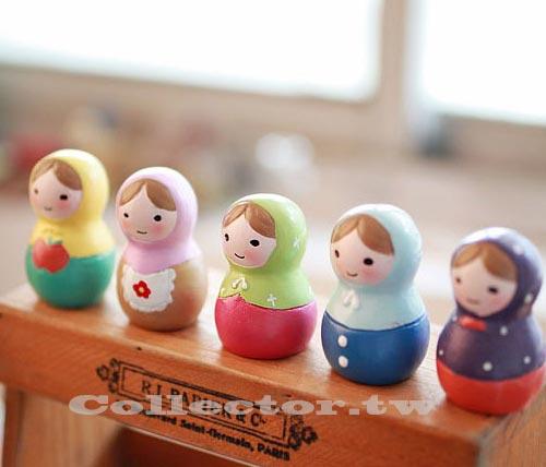 【A13102501】俄羅斯娃娃 桌上擺件 辦公室小物 療癒系公仔